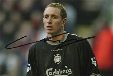 Chris Kirkland, Liverpool & England, signed 6x4 inch photo.